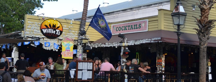 Willie T's is one of vacation hot spots.