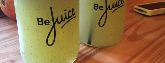 Be Juice is one of Comidas Barrio.