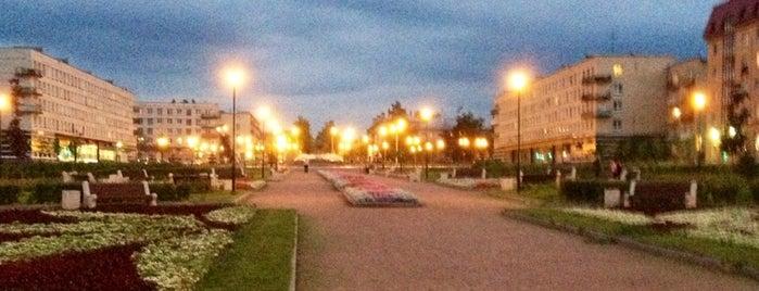 Парк у Фонтана is one of Locais curtidos por Sveta.