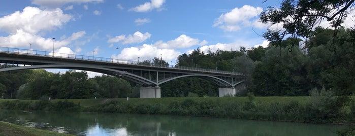Grünwalder Brücke is one of Orte, die Dominik gefallen.