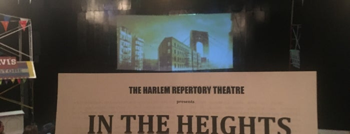Harlem Repertory Theatre is one of Tempat yang Disukai Radairis.
