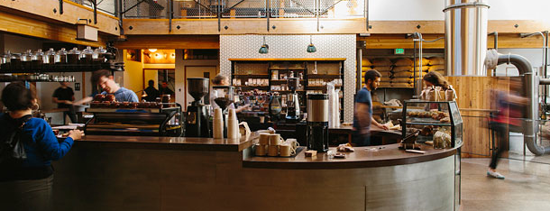 Sightglass Coffee is one of Grub Street Coffee Shops.