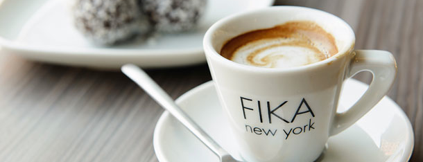 FIKA Espresso Bar is one of Grub Street Coffee Shops.