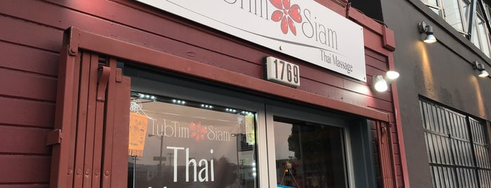 TubTim Siam Thai Massage is one of San Francisco.