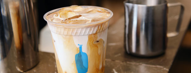Blue Bottle Coffee is one of Grub Street Coffee Shops.