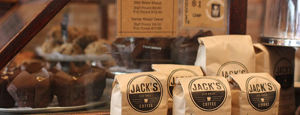 Jack's Stir Brew Coffee is one of Grub Street Coffee Shops.