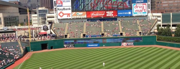 Progressive Field is one of MLB.