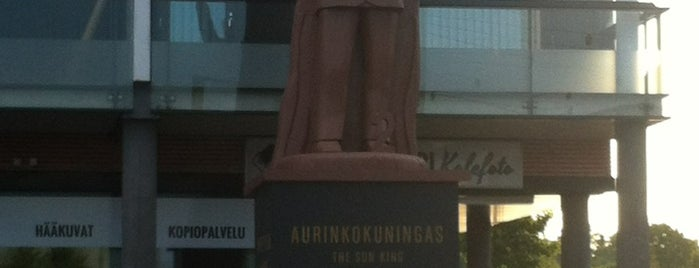 Aurinkokuningas is one of My Saved Venues in Finland.