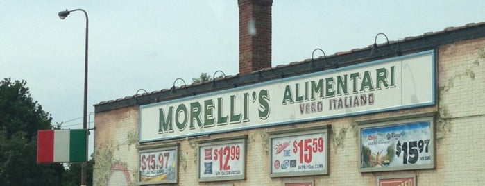 Morelli's Liquor Store is one of TC Take Out.