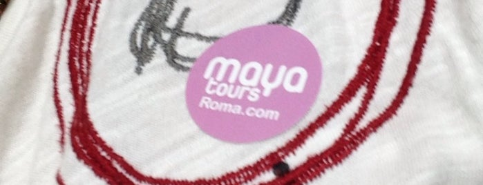 Maya Tours Roma is one of Tempat yang Disukai Jose.