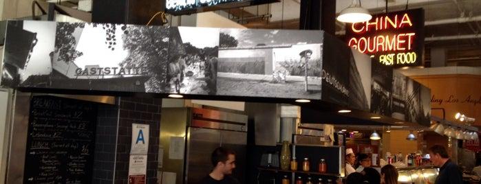 Berlin Currywurst is one of Nobody Walks in LA.
