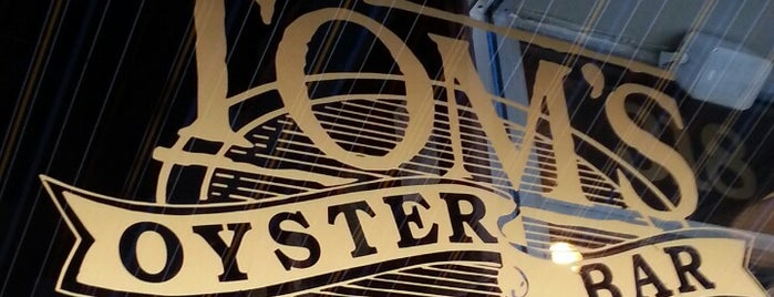 Tom's Oyster Bar is one of restaurants and bars around the world.