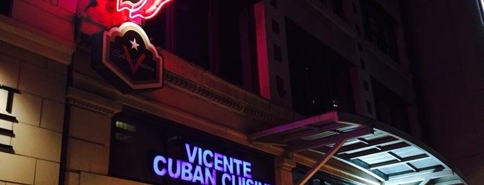 Vicente's Cuban Cuisine is one of Posti che sono piaciuti a Kate.