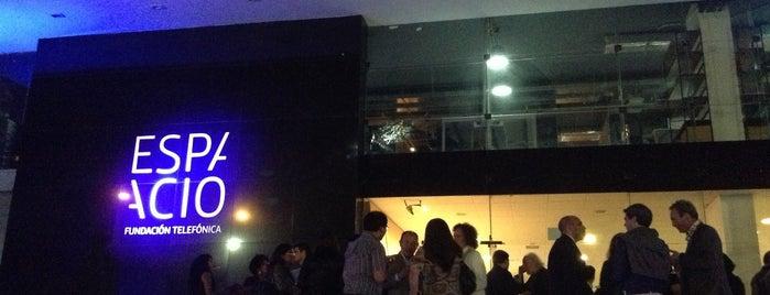 Fundación Telefónica del Perú is one of Bienal de Fotografia de Lima.