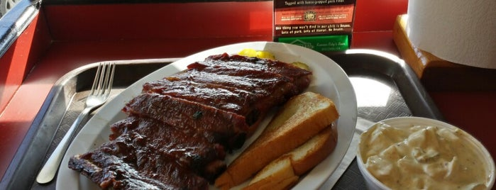 Joe's Kansas City Bar-B-Que is one of Yelp's Top 100 Places to Eat in the US (2014).
