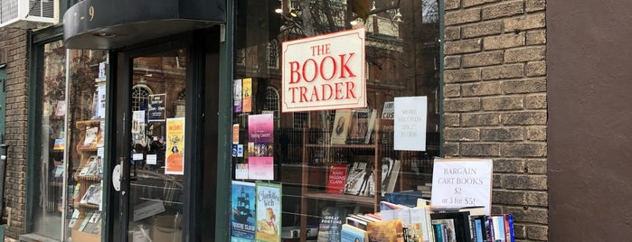 The Book Trader is one of Orte, die Tim gefallen.