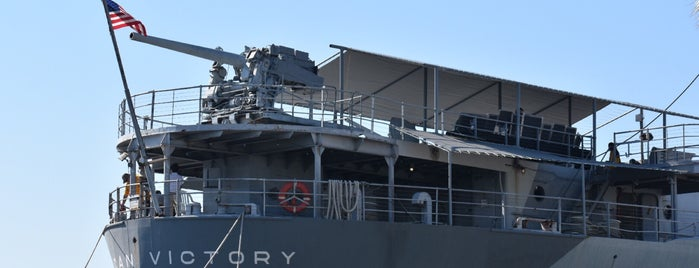SS American Victory Mariners Memorial & Museum Ship is one of TIME's Guide to Escape the RNC.