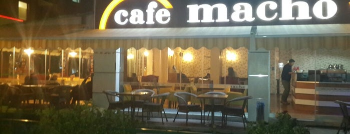 Macho Cafe & Bistro is one of Must-see seafood places in Eskişehir.