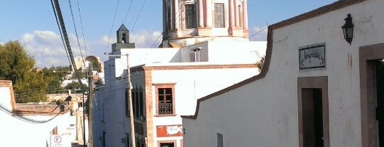 Mineral de Pozos is one of Mx.