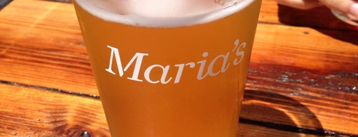 Maria's Packaged Goods & Community Bar is one of 20 Great Spots for a Summer Beer in Chicago.
