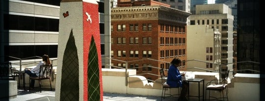 343 Sansome Roof Garden is one of San Francisco.