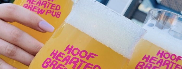 Hoof Hearted Brewery & Kitchen is one of Columbus.
