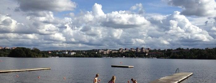 Solviksbadet is one of STHLM swimming.