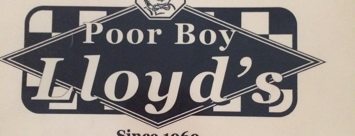 Poor Boy Lloyd's is one of Tempat yang Disukai Jan.