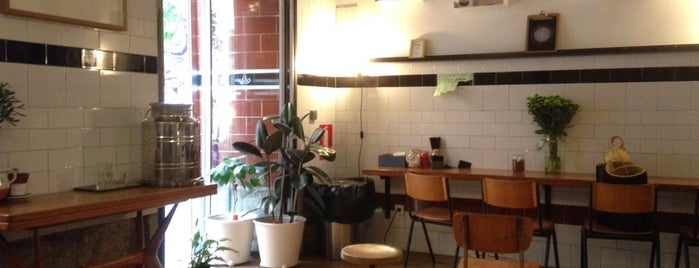 Toma Café is one of Best of Madrid.
