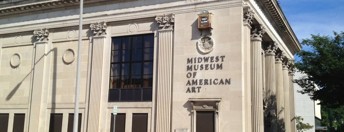 Midwest Museum of American Art is one of USA Museum To-Do.