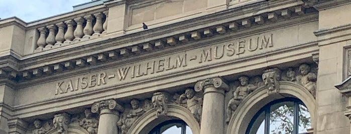 Kaiser-Wilhelm-Museum is one of Aus, Bel, Fra, Ger, Ita & Swi.