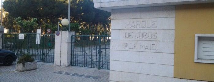 Parque de Jogos 1º de Maio - INATEL is one of Tempat yang Disukai Flor.