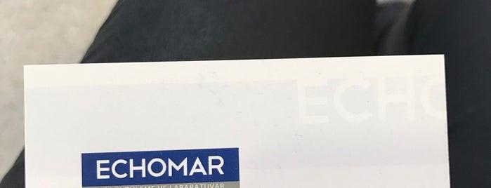 Echomar Görüntüleme Merkezi is one of Sibelさんの保存済みスポット.