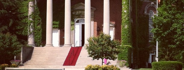 Hendricks Chapel is one of Campus Tour.