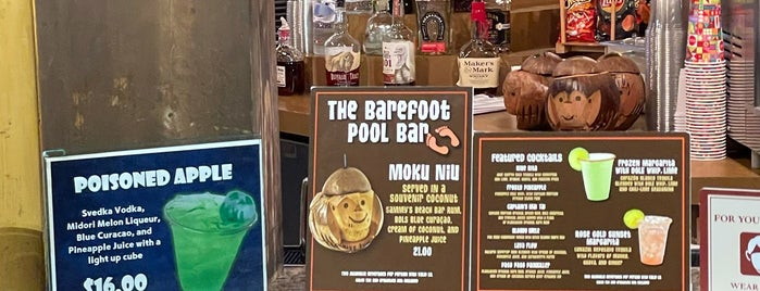 Barefoot Pool Bar is one of Disney.