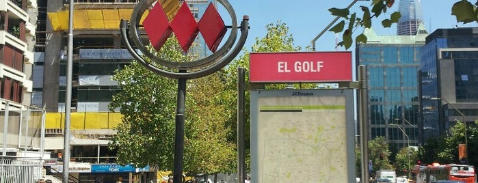Metro El Golf is one of Orte, die Paula gefallen.