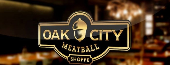 Oak City Meatball Shoppe is one of Food.