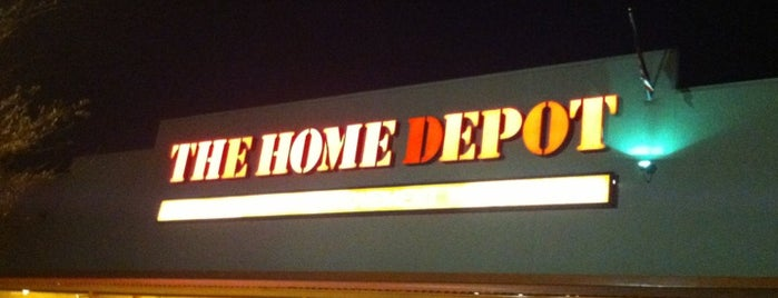 The Home Depot is one of Anthony : понравившиеся места.