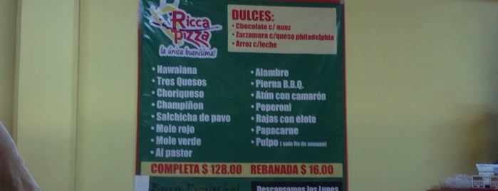 Ricca Pizza is one of Pizza..