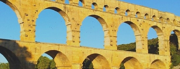 Pont du Gard is one of World Heritage Sites List.