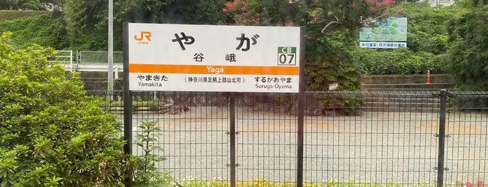 Yaga Station is one of JR 미나미간토지방역 (JR 南関東地方の駅).