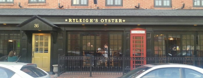 Ryleigh's Oyster is one of Been There Bmore.