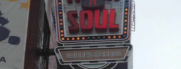Rock'n'Soul Museum is one of Lugares favoritos de Zachary.