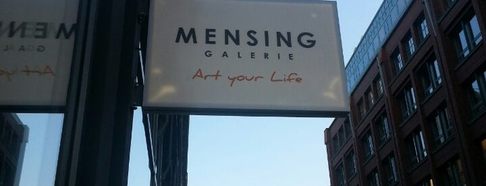 Galerie Mensing is one of Hamburg.