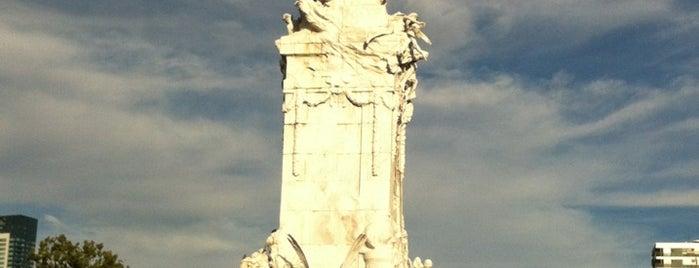 Monumento de los Españoles is one of PASEOS & VIAJES.