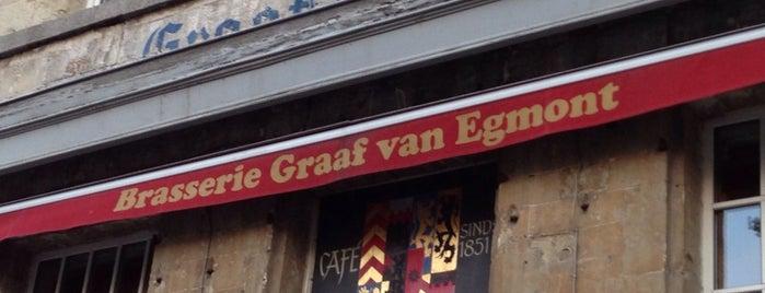 Graaf van Egmont is one of Lieux qui ont plu à Gert.
