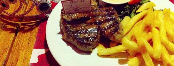 Steak Hotel by Holycow! TKP Kemang is one of Food Court.