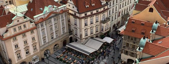 Věž Staroměstské radnice is one of Lieux sauvegardés par Nieko.