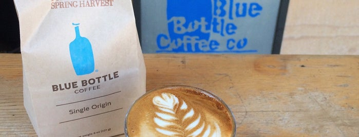 Blue Bottle Coffee is one of California here we come.