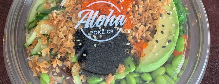 Aloha Poke Co. is one of Chicago*.